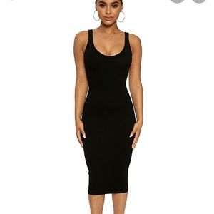Brand New Naked Wardrobe Snatched Hourglass Dress